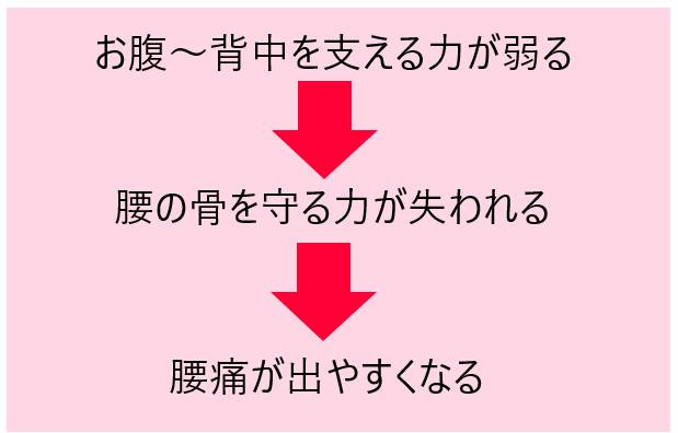 腰痛メカニズム①